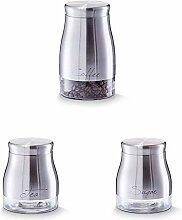 Zeller 19892 Vorratsglas Coffee, 1300 ml, ca. 11,5