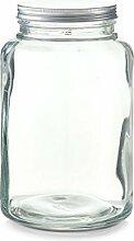 Zeller 19938 Vorratsglas m. Metalldeckel, 4900ml,