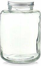 Zeller 19939 Vorratsglas m. Metalldeckel, 7000ml,