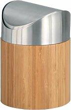 Zeller 25281 Tischabfalleimer, Bamboo/ø 12 x 17