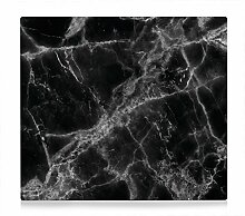 Zeller 26315 Herdabdeckplatte, Metall, Marmor