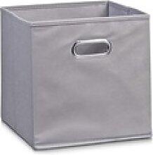 Zeller Aufbewahrungsbox in grau, 28 x 28