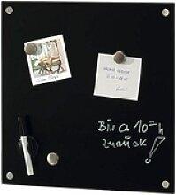 Zeller Glas-Magnettafel   40,0 x 40,0 cm schwarz