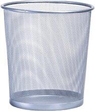 Zeller Papierkorb Mesh, 12 Liter, Abfallkorb für
