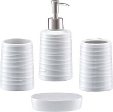 Zeller Present Badaccessoires-Sets Aqua,