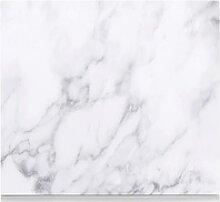 Zeller Present Herdblende-/Abdeckplatte Marmor,
