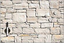 Zeller Present Magnettafel Stone, Memoboard, aus