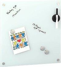 Zeller Present Memoboard B/H: 40 cm x weiß