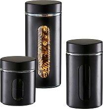 Zeller Present Vorratsglas Style (Set, 3-tlg.) (H)