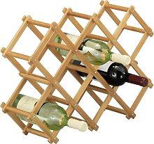 Zeller Present Weinregal Bamboo 54x14,5x38 cm, 10