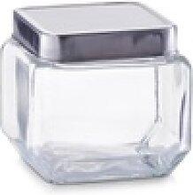 Zeller Vorratsglas mit Edelstahldeckel,
