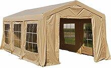 Zelt mit 6 Fenster und 2 Türen für Gartenlaube Modell Cadiz