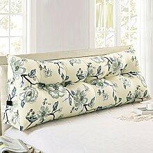 ZEMIN Bedside Cushion Kissen Baumwolle Mit