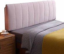 ZEMIN Bedside Kissen Weich Bett Rückenlehne Pad