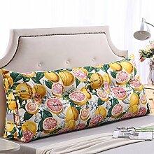 ZEMIN Bett Kissen Baumwolle Mit Kopfteil