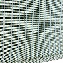 ZEMIN Römisch Bambusrollo Jalousette Rolltor Venezianisch Schattierung Vorhang Innen/Außen Installieren Fenster Sonnen Bildschirm Schön Handhebend, 3 Farben Verfügbar, Bambus