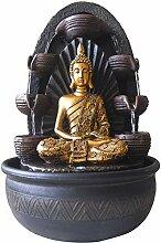 Zen Light Chakra Zimmerbrunnen mit Pumpe und
