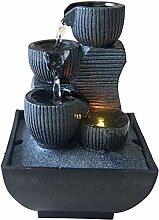 Zen Light Kini Zimmerbrunnen mit Pumpe und