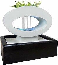 Zen Light Lunapot Zimmerbrunnen mit Pumpe und