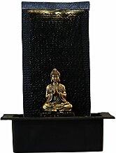 Zen Light Zenitude Brunnen Polyresin schwarz 31x