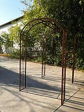 Zen Man Edelrost Garten Rankgitter Metall Rost