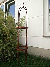 Zen Man Edelrost Garten Rosenbogen Rost aus Metall