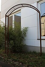 Zen Man Garten Rosenbogen Rost aus edelrost Metall