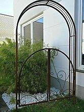 Zen Man Garten Rosenbogen Rost aus Metall