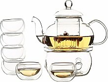 Zen Raum Doppelwandiges Glas, Borosilikatglas, Tee