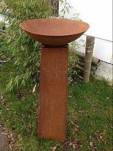 Zen Rost,Metal,Gartendeko,Pflanzenschale