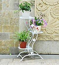 ZENGAI Mehrschicht Blumenregal Blumentreppe Metall