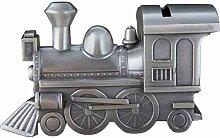 Zenghh Dampflokomotive Piggy Bank, manuelle