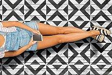 Zenjoji Fliese Muster Schablone, Geometrisch,