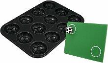 Zenker 2010 Fussball-Muffin Backform + Torwandspiel