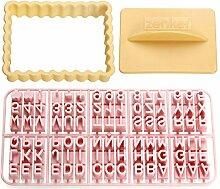 Zenker Ausstecher mit Buchstaben, Kunststoff,