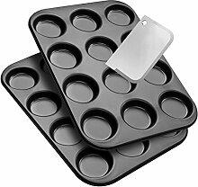 Zenker Macarons Back-Set 2 Backbleche und 1
