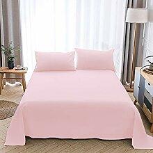 Zenssia langstapelige Baumwolle Betttuch Bettlaken