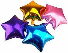 Zentto 50 Stück Ballons Aluminiumfolie
