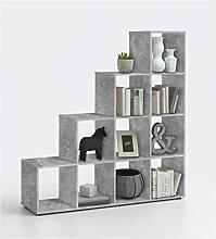 ZeoTioo Grau Beton Light Atelier Dekor Raumteiler