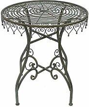ZeoTioo Tisch Gartentisch Bistrotisch 68 cm