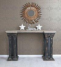 ZeoTioo Wandtisch Antik Konsole Säulen