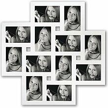 Zep Milano Holzbilderrahmen für 12 Bilder je 10 x