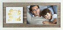 Zep S.r.l Best Dad Holzbilderrahmen mit