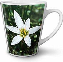 Zephyr Foto Natur Weiß Keramisch Latte Becher 12 oz | Wellcoda