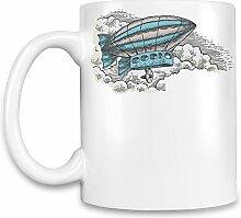 Zeppelin Kaffee Becher