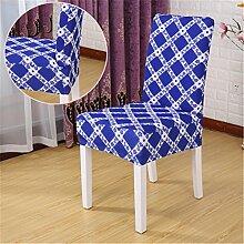 zerci 1Stück Stuhl Bezüge für Hochzeiten Bankett Bar Küche Esszimmer Restaurant Hotel Dekoration Decor Stretch Stuhl, Sitz Lycra Spandex, Color 8, Einheitsgröße