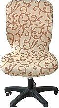 zerci Computer-Bürostuhl Bezug Universal Stuhl Bezug Stretch drehbar Stuhl Bezug, Color 9, Einheitsgröße