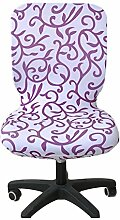 zerci Computer-Bürostuhl Bezug Universal Stuhl Bezug Stretch drehbar Stuhl Bezug, Color 11, Einheitsgröße