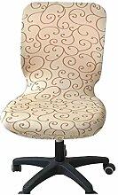 zerci Computer-Bürostuhl Bezug Universal Stuhl Bezug Stretch drehbar Stuhl Bezug, Color 1, Einheitsgröße