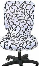 zerci Computer-Bürostuhl Bezug Universal Stuhl Bezug Stretch drehbar Stuhl Bezug, Color 12, Einheitsgröße